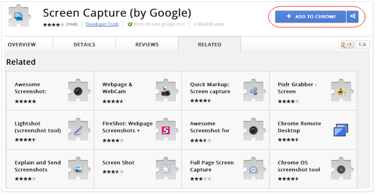 Screen Capture (by Google)