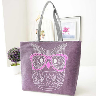 fashion bag, Owl bag, bag, canvas bag