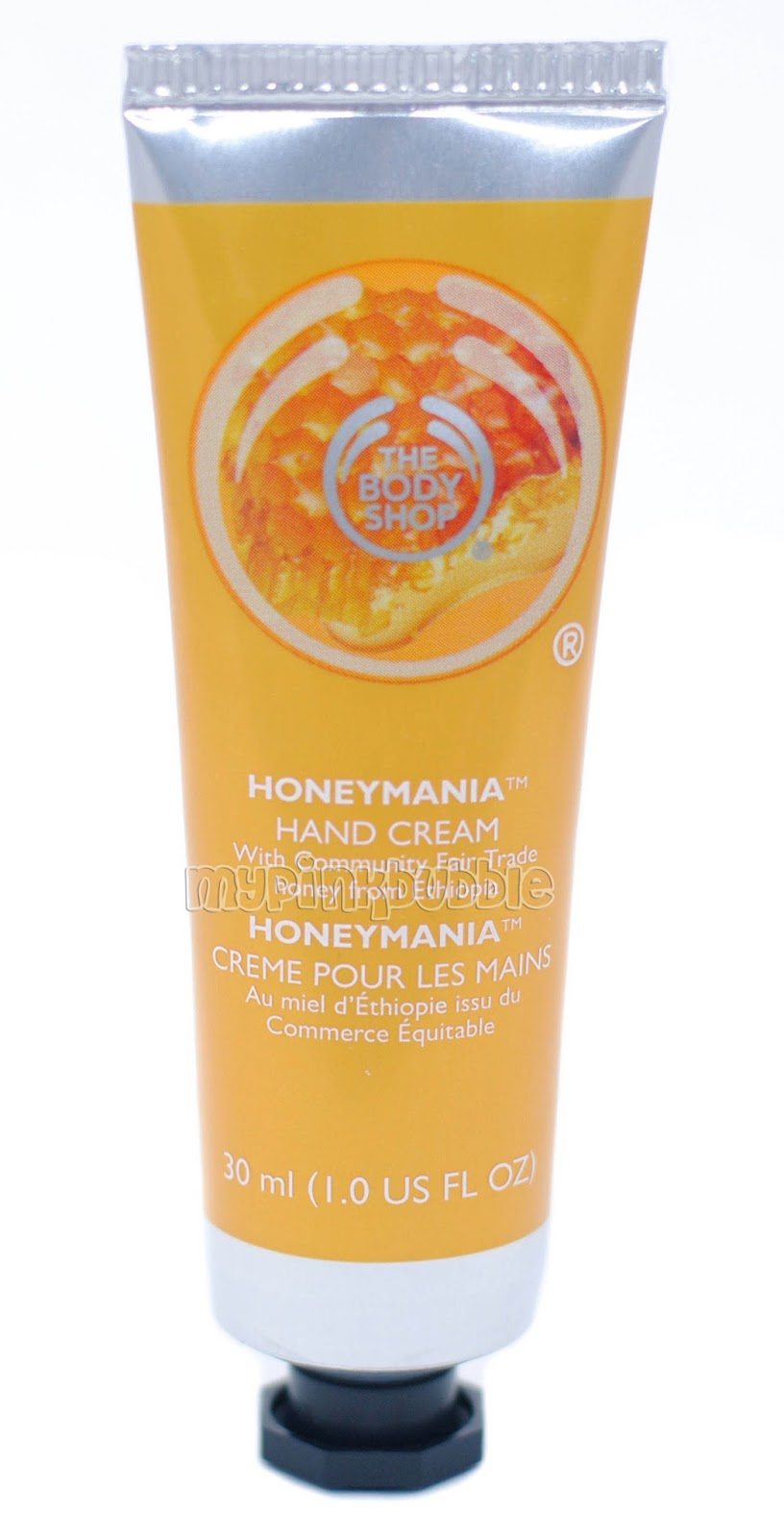 Body shop crema manos Honeymania