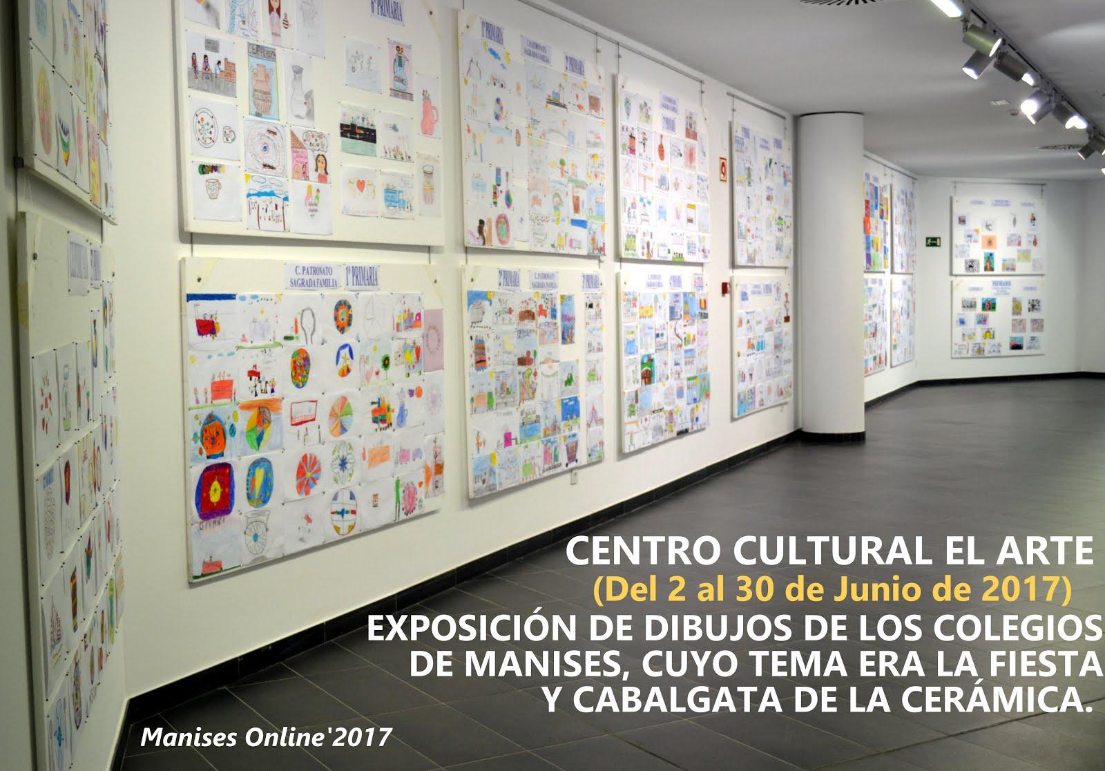 05.06.17 EXPOSICIÓN DE LOS TRABAJOS ESCOLARES EN EL C. C. EL ARTE DE MANISES
