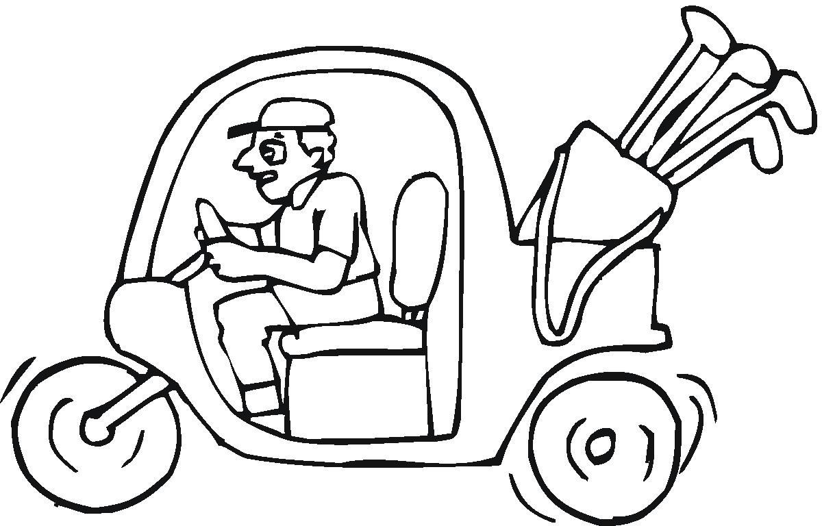 coloring pages mega blog golf printable coloring pages