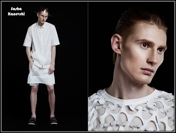 Kiev Fashion : Sasha Kanevski designer Kyiv fashion week
