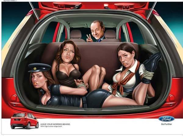 Ford publicidad Berlusconi