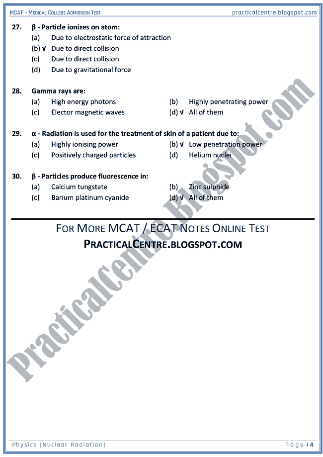 mcat-physics-nuclear-radiation-mcqs-for-medical-college-admission-test