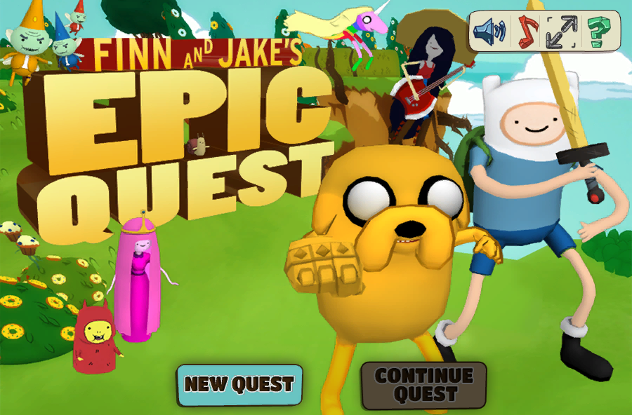 The Epic Adventure of Finn and Jake