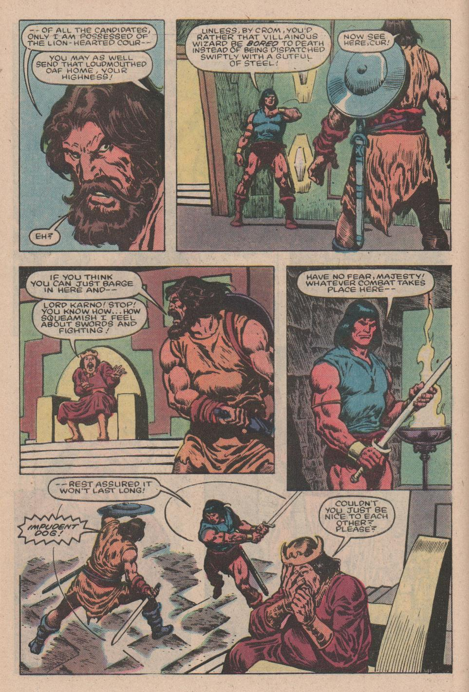 Conan the Barbarian (1970) Issue #157 #169 - English 5