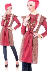 Esme Blus E-010603 - Marun (Toko Jilbab dan Busana Muslimah Terbaru)