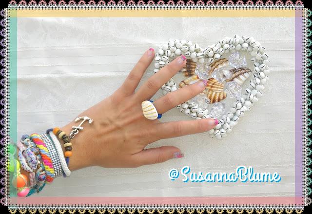 diy: Crear anillo con concha de la playa