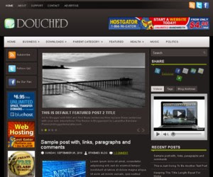 Douched Blogger Template