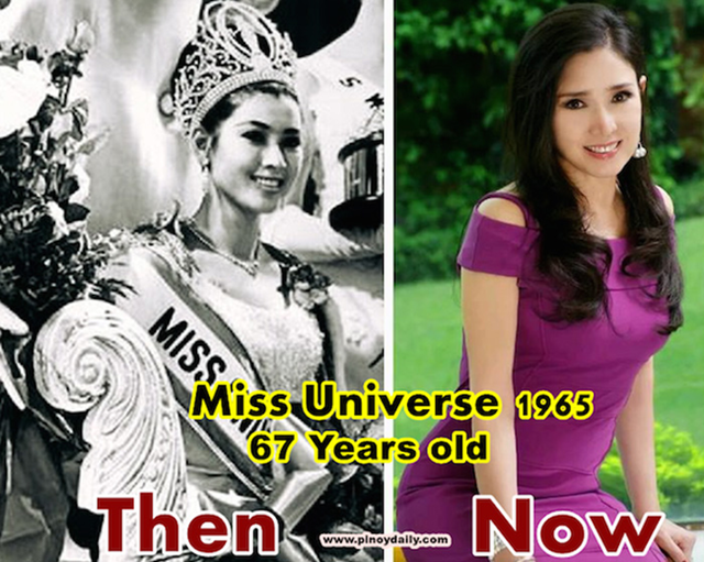 Thailand's Miss Universe Hasn't Aged A Day In The Past 50 Years