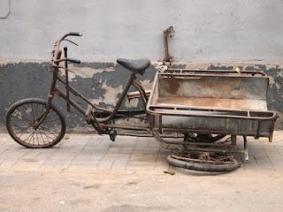 Trishaw breakdown - Beijing