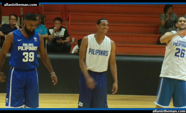 Jordan Clarkson wears Gilas Pilipinas jersey; joins national team practice