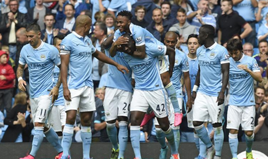 Manchester City 2 x 0 Watford - Premier League 2015/16