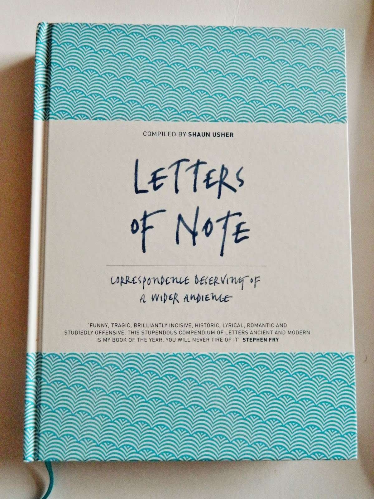 coffee table book - letters of note | is this real life?