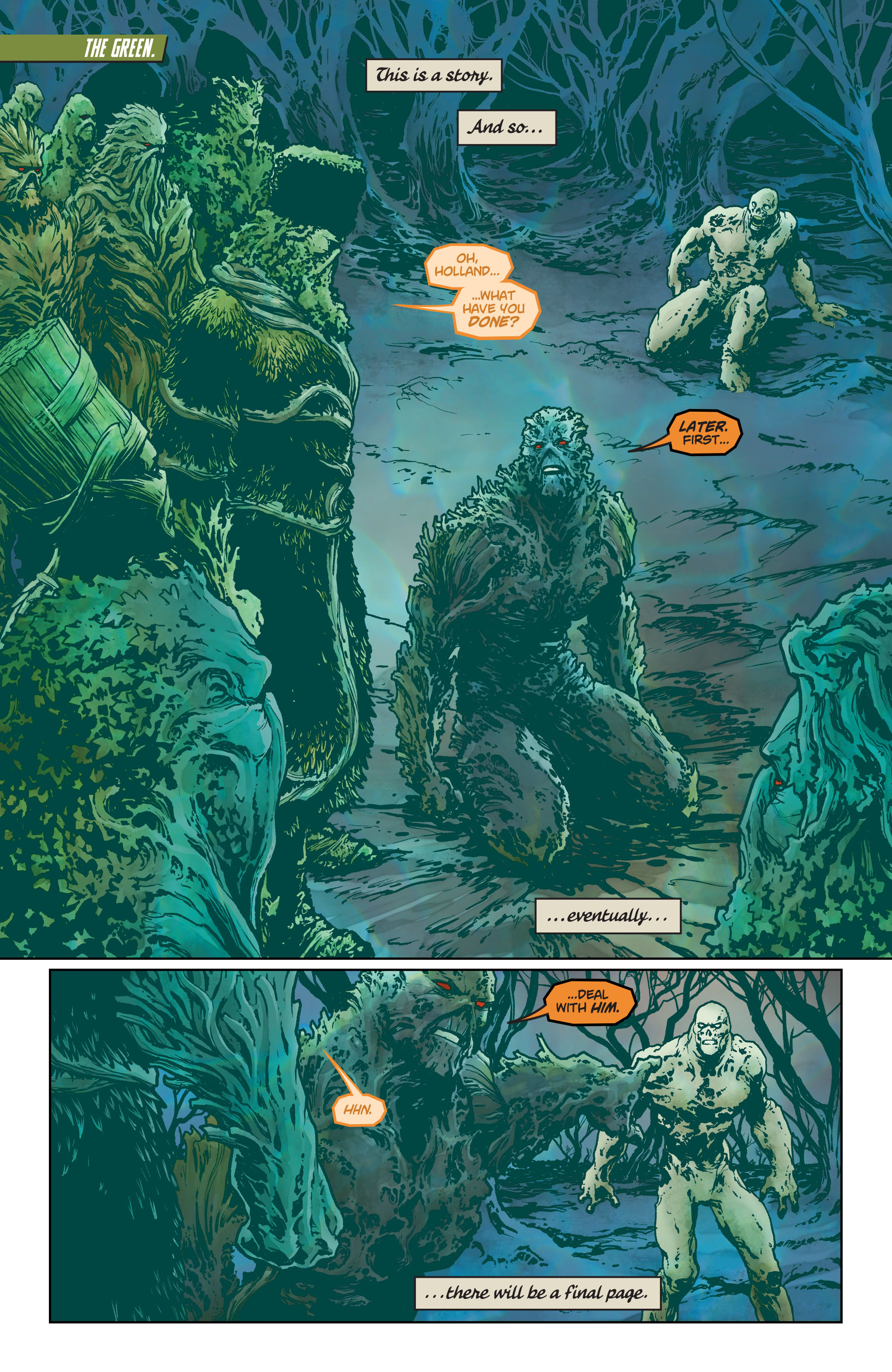 Swamp Thing (2011) Issue #40 #45 - English 2