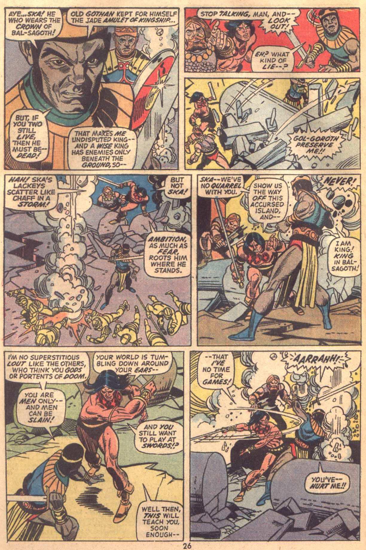 Conan the Barbarian (1970) Issue #18 #30 - English 19