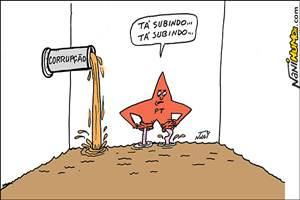 Política na lama, a nova modalidade esportiva do Brasil.