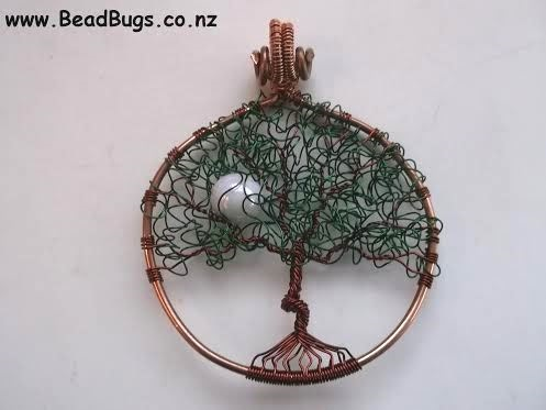 A Curly Leaf Tree of Life Pendant Tutorial to Try! ~ The Beading ...