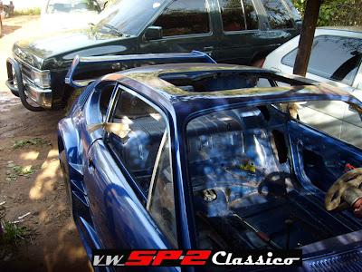 Volkswagen SP2 desfigurado no Paraguai_01