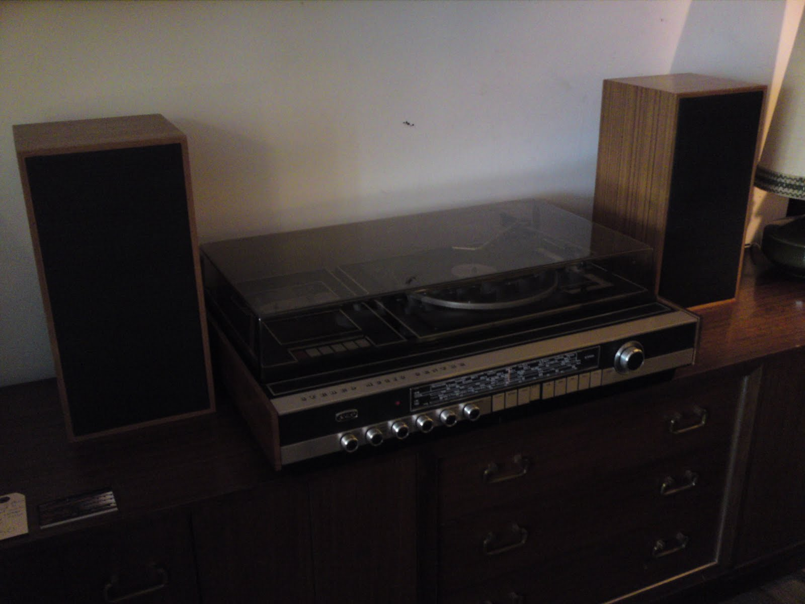 1970s CabiStereo Record Player