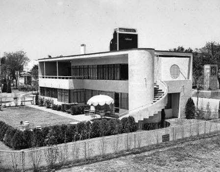 Casa estilo Moderno del año 1936 en Dallas, Texas