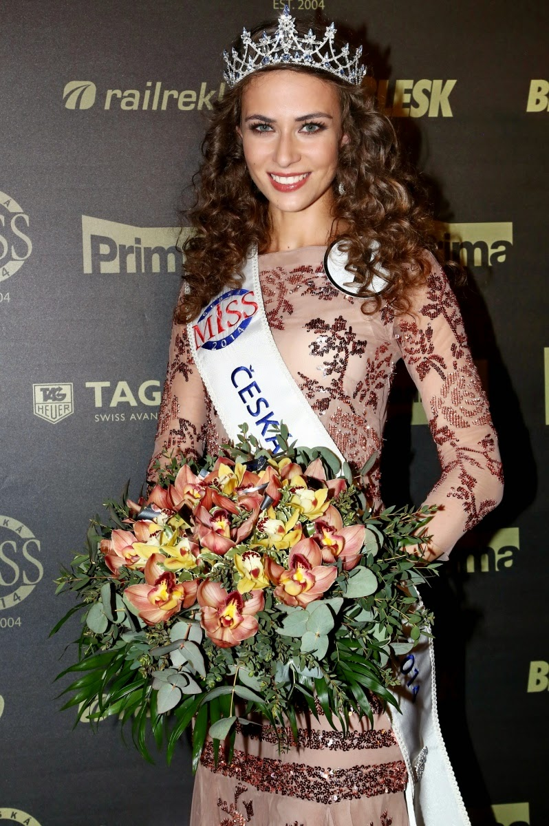 Ceska Miss Czech Republic 2014 Tereze Skoumalove