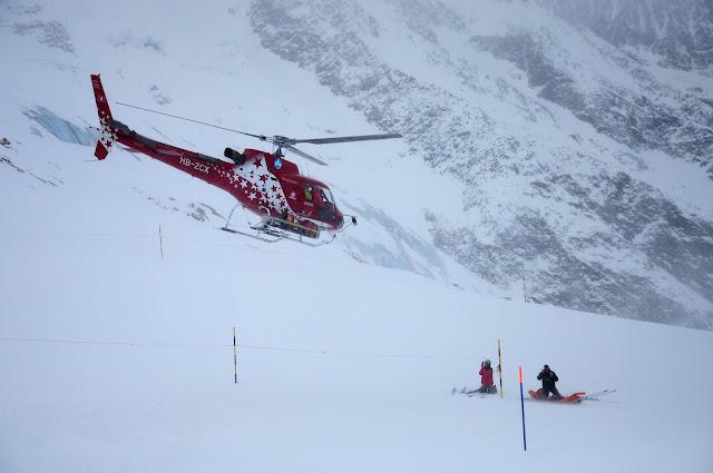 saas fee ski station