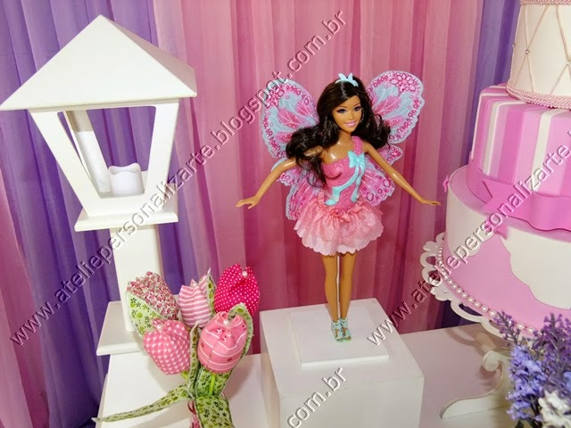 Decoração Barbie Butterfly Porto Alegre