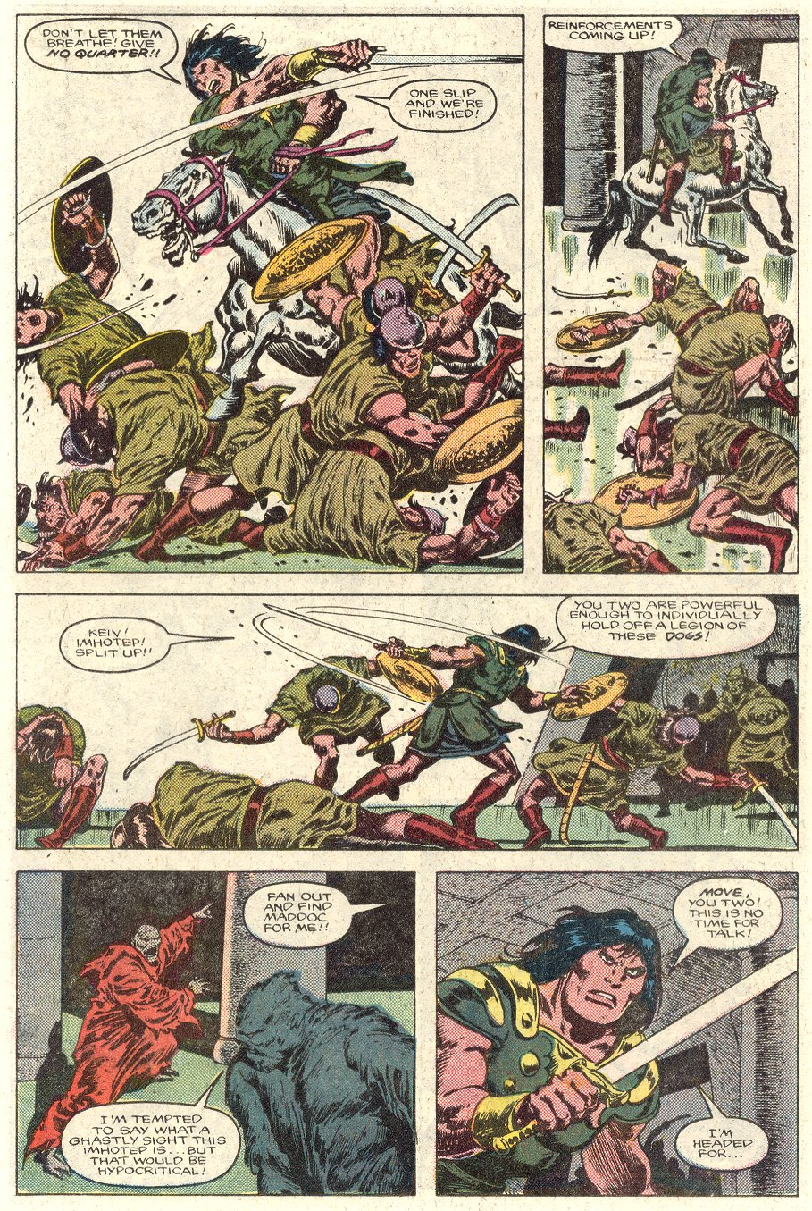 Conan the Barbarian (1970) Issue #184 #196 - English 13