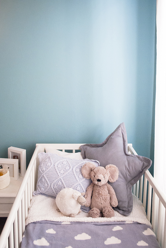 Bedroom decor to accommodate a baby boy | My paradissi ©Eleni Psyllaki