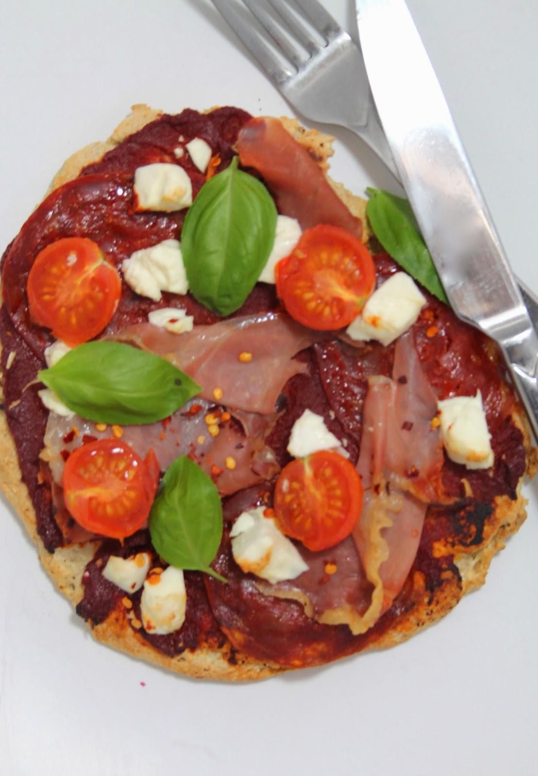 Protein pizza recipe
