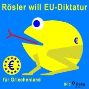 Rsler will EU-Diktatur