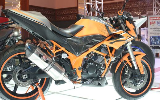 Honda CB150R Streetfire versi Modifikasi