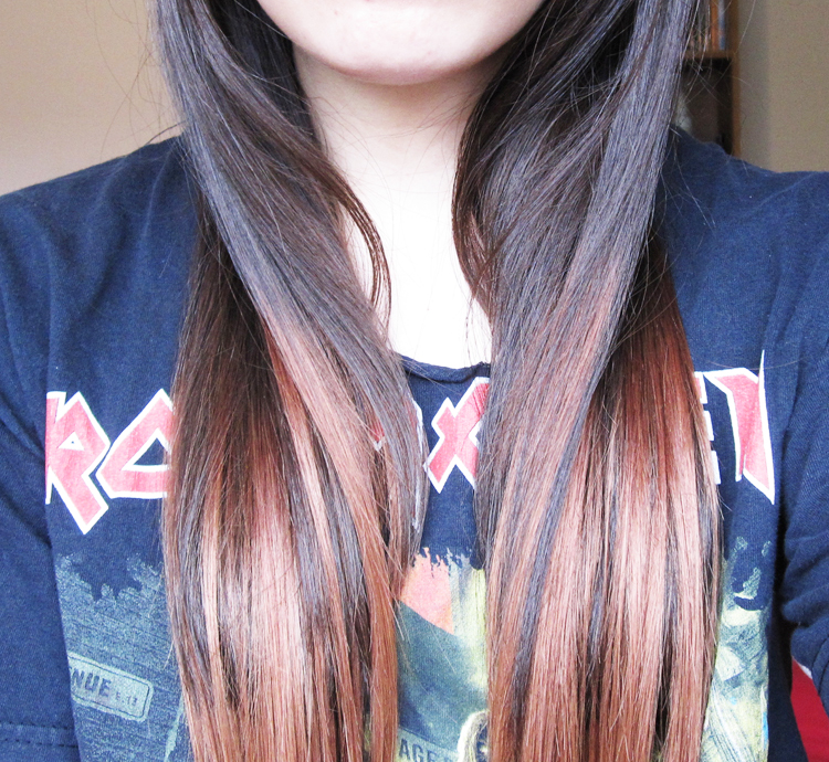 Faking The Ombre Trend With Ik Dip Dye Hair Extensions We Were