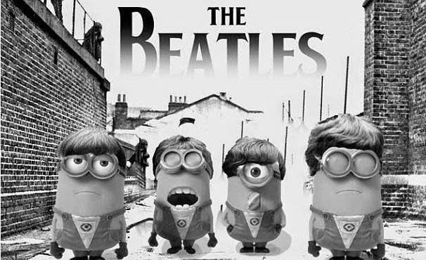 Minion's Banda The Beatles