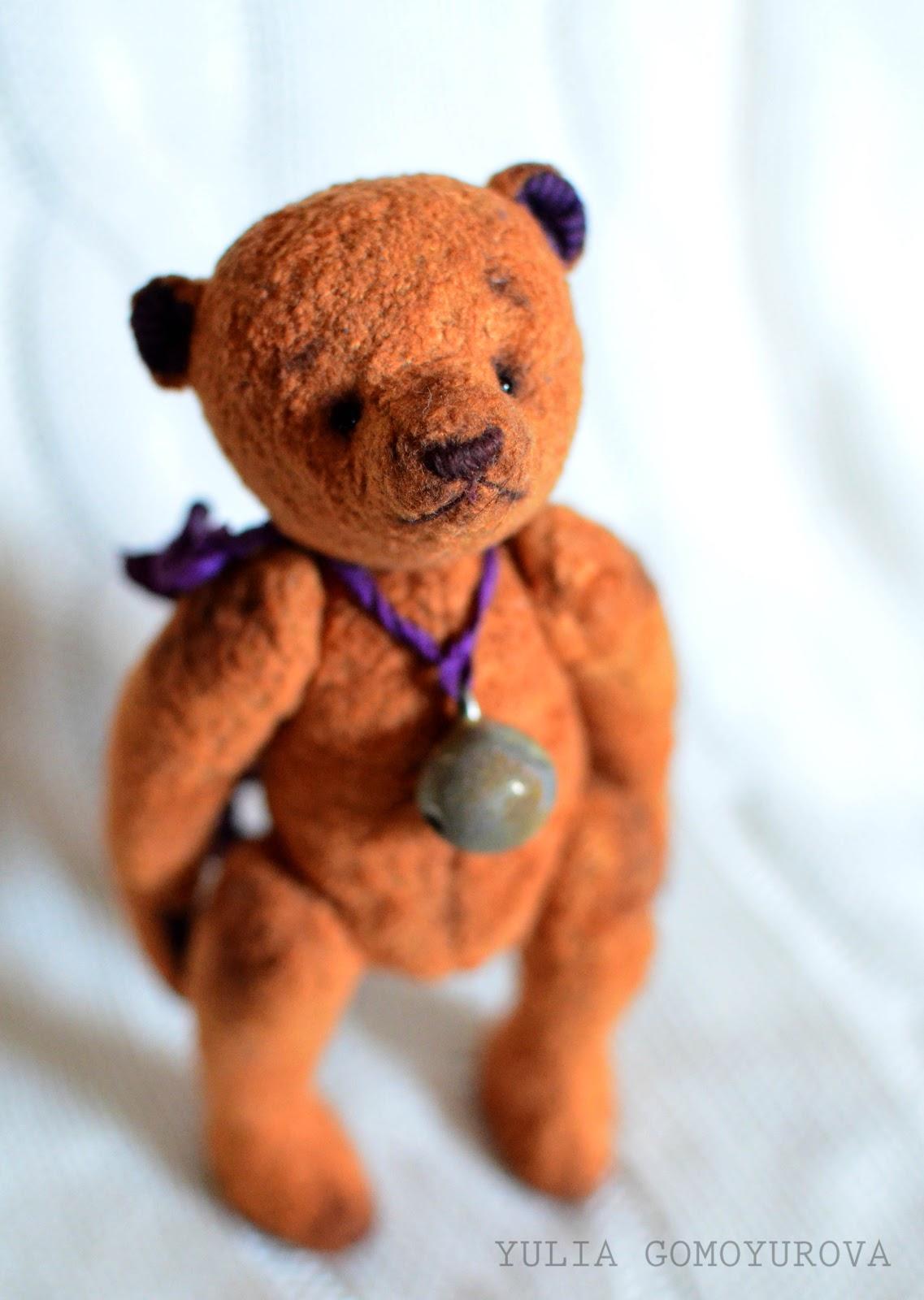Вышивка крестиком медведь