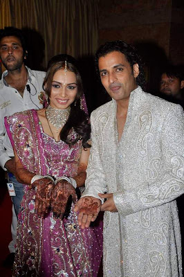 Bollywood Stars at hegde's Wedding Reception