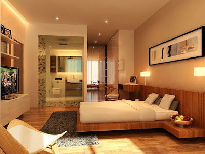 desain kamar tidur, minimalis, modern
