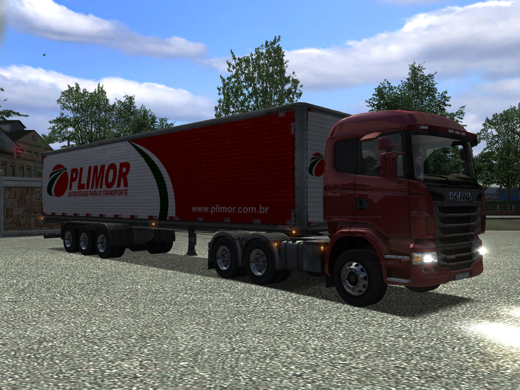German Truck Simulator Mod