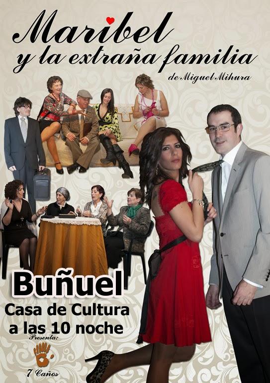 Teatro Maribel y la extraña familia en Buñuel