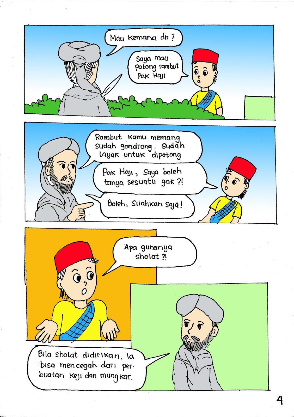 Komik Islami Kenapa Kita Sholat Kiminoru