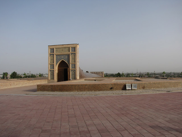 Uzbekistán, Samarkanda - Observatorio de Ulugbek
