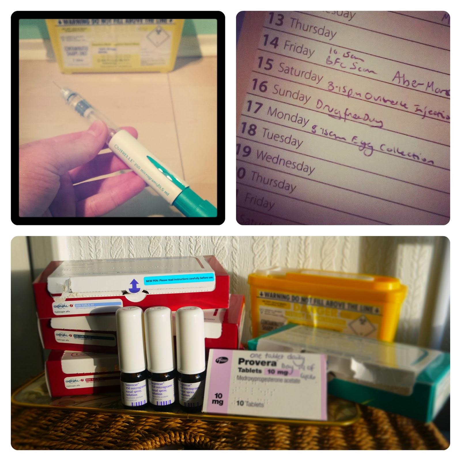Final bit of IVF treatment