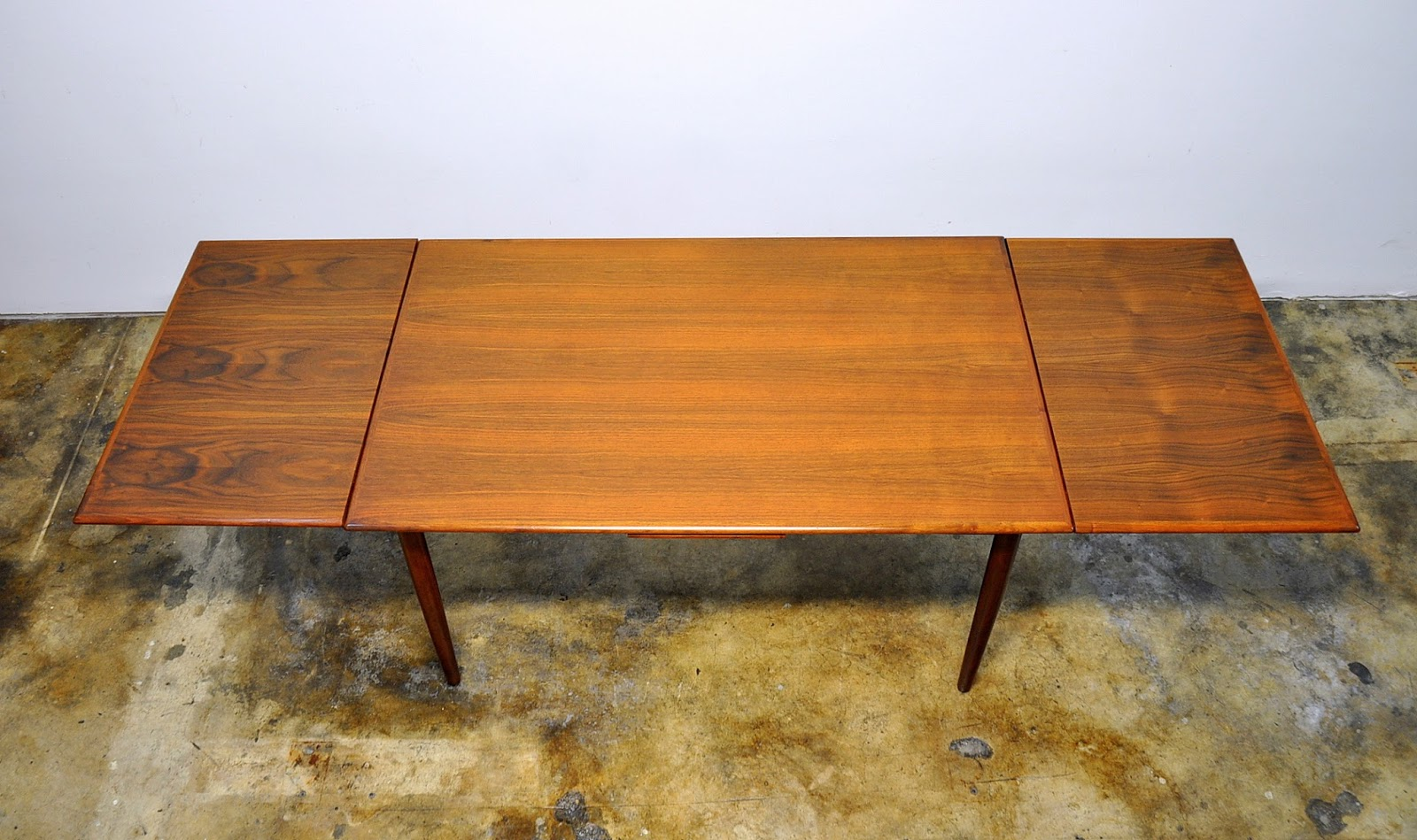 select modern danish modern teak expandable dining room table danish modern teak expandable dining table