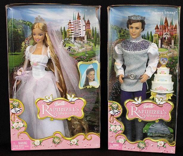 Barbies des films 02 barbie princesse raiponce 2002 - Le mariage de raiponse ...