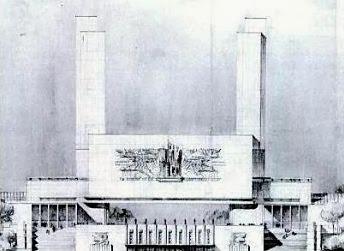 Musée Maillot à Paris 1934 (Projet)