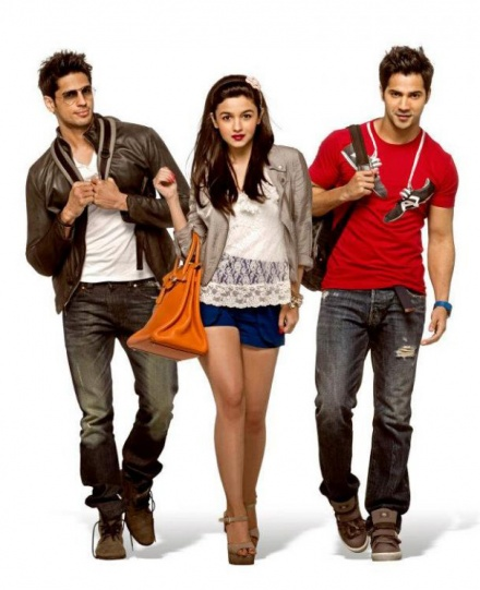 bollywood, tollywood, hot, Student, Of, The, Year, Movie, Karan, Johar, First, Outing, With, Newcomers