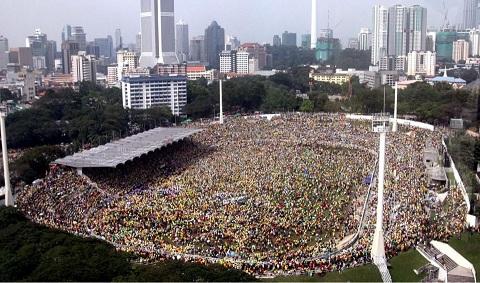 Gambar paling terkini Himpunan Kebangkitan Rakyat (HKR) 12 Jan 2013