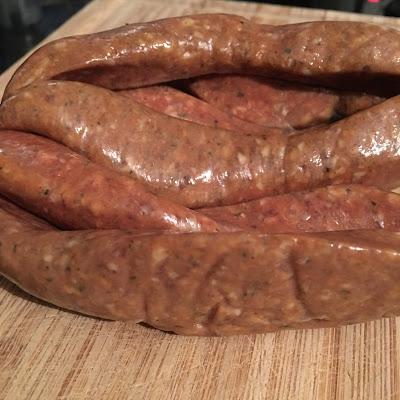 Spanish Merguez sausage
