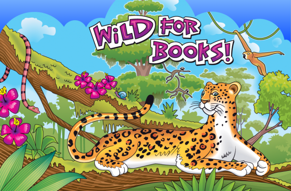 Image result for leopard with books